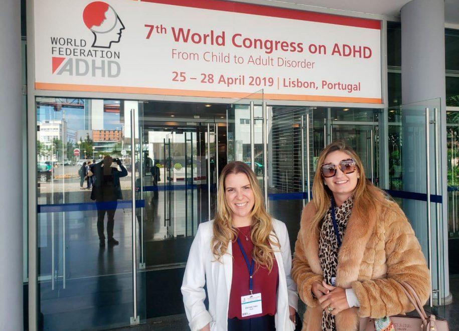 Psicólogas e Diretoras do Neuropsicocentro participam do maior congresso sobre TDAH do mundo, em Lisboa