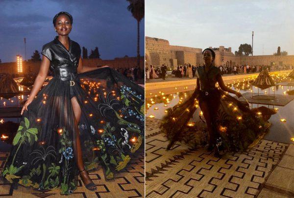 Lupita Nyong'o, Karlie Kloss e Diana Ross são destaque em desfile da grife Dior, em Marrakesh