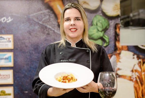 Chef Fabiana Moretti ensina receita prática com Tortiglione