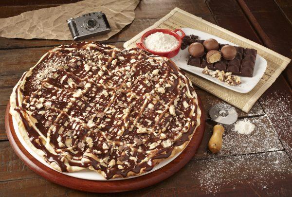 A cada pizza doce vendida, a Vignoli doa um ovo de páscoa para instituição; entenda a ação