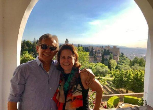 Ana Elisa e David Perdigão, da Multipolipedras, visitam fornecedores na Espanha