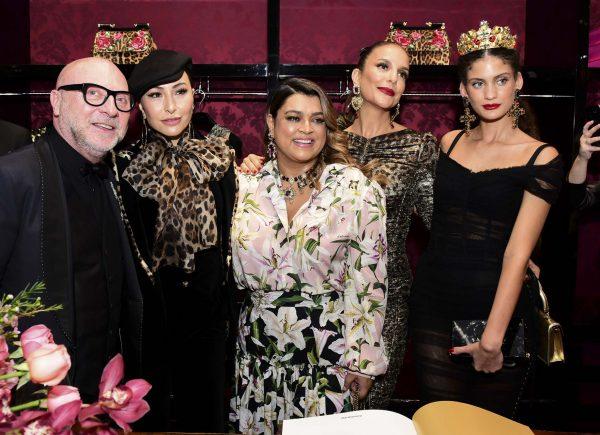 """JK Iguatemi recebe Domenico Dolce para lançamento do livro """"Queens – Alta Moda di Dolce & Gabbana"""""""