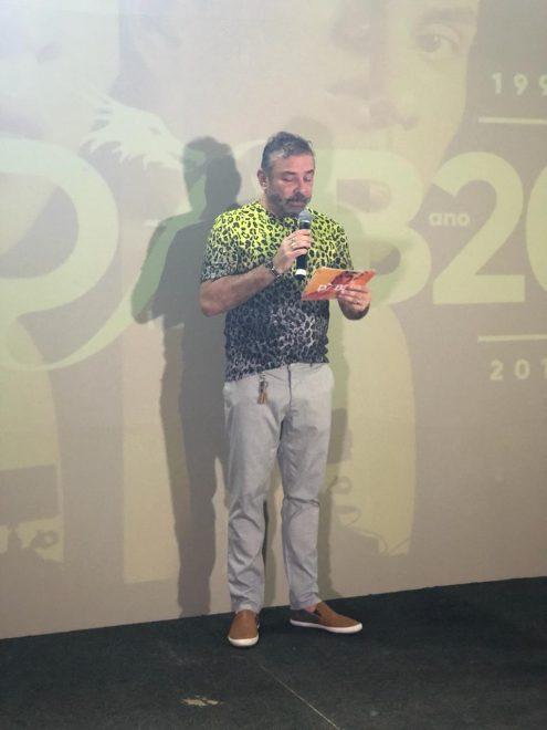 Cláudio Silveira inicia a 20ª edição do DFB Festival