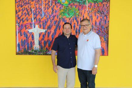 Presidente do Iprede, Sulivan Mota, visita o Complexo Myra Eliane