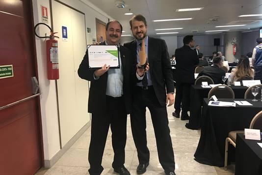 Gestão do Senai Ceará é premiada em encontro na Confederação Nacional da Indústria