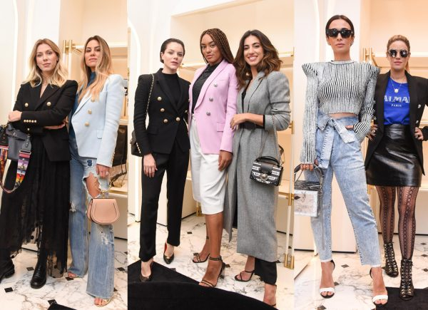 Balmain promove almoço com celebridades para comemorar abertura de 1ª boutique no Brasil