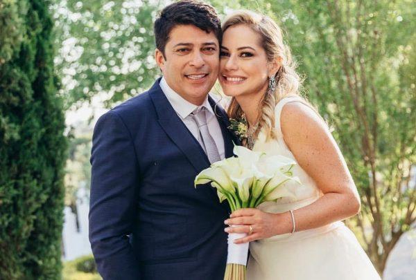 Talyzie Mihaliuc e Marcelo Sombra celebram união em Portugal