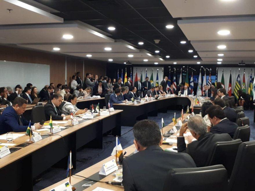 Camilo Santana cumpre agenda de compromissos em Brasília