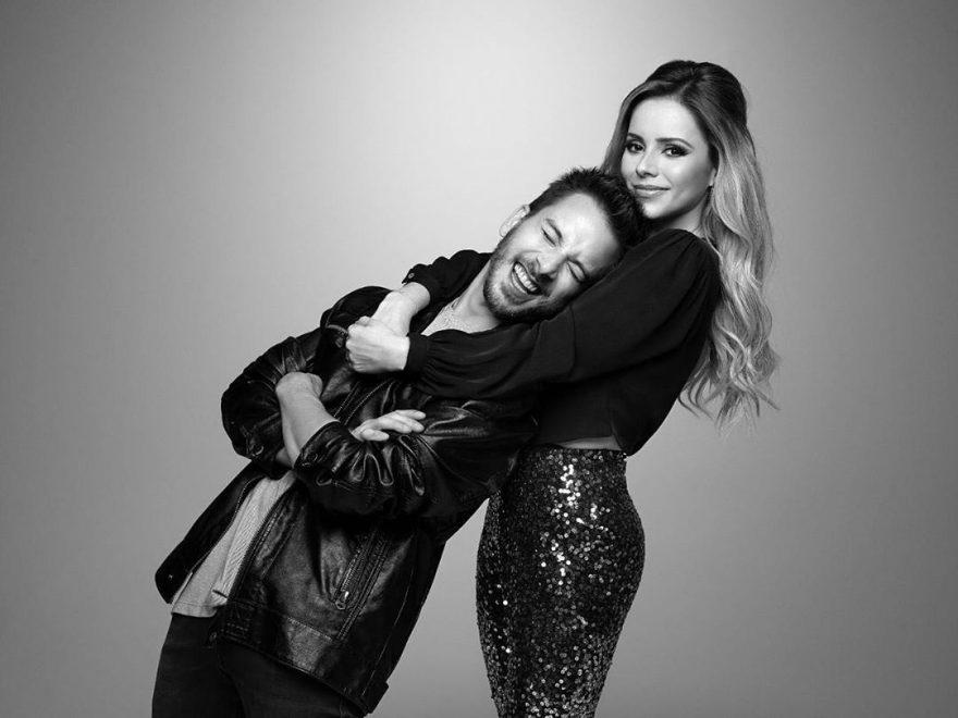 Sandy & Júnior lançam promoção para fãs conhecerem camarim do show em Fortaleza