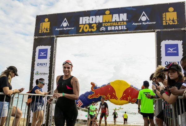 Cearenses marcam presença na disputa pelo Circuito Ironman 70.3 Fortaleza