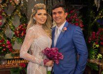 Romance e belo visual marcaram o casamento de Jamille Duarte e Getúlio Pessoa; confira