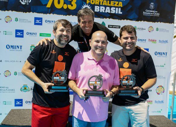 Rodrigo Lobo e Flávia Meyer são os grandes vencedores do Ironman 70.3 Fortaleza