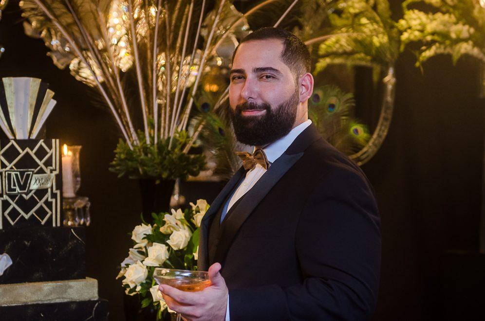 Inspirada em Great Gatsby, festa de aniversário de Luiz Victor Torres encanta pelo glamour; veja looks