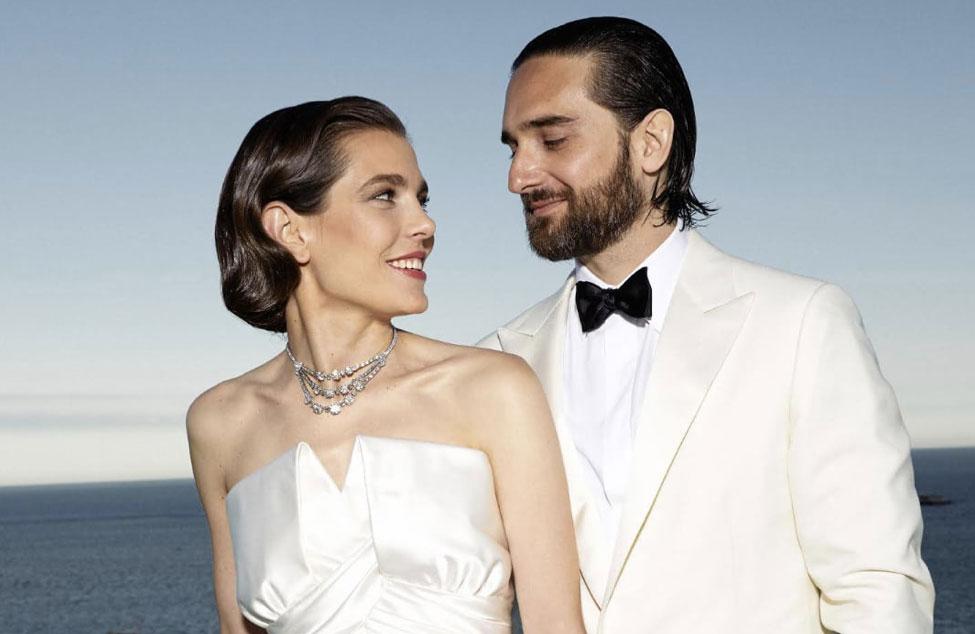Detalhes do sofisticado casamento de Charlotte Casiraghi e Dimitri Rassam, em Mônaco