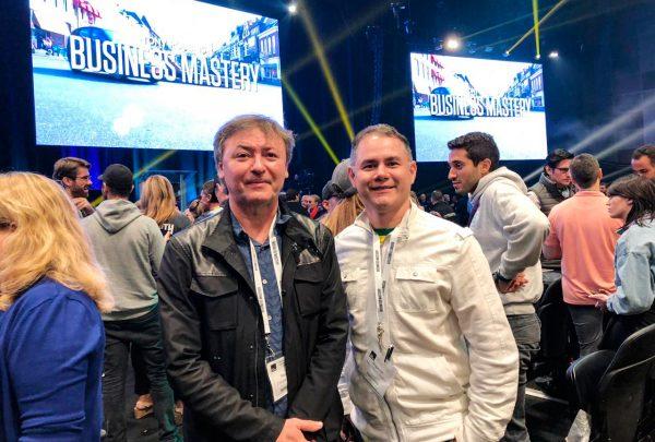 Maurício Filizola, presidente da Fecomércio-CE, compartilha experiência no Business Mastery II