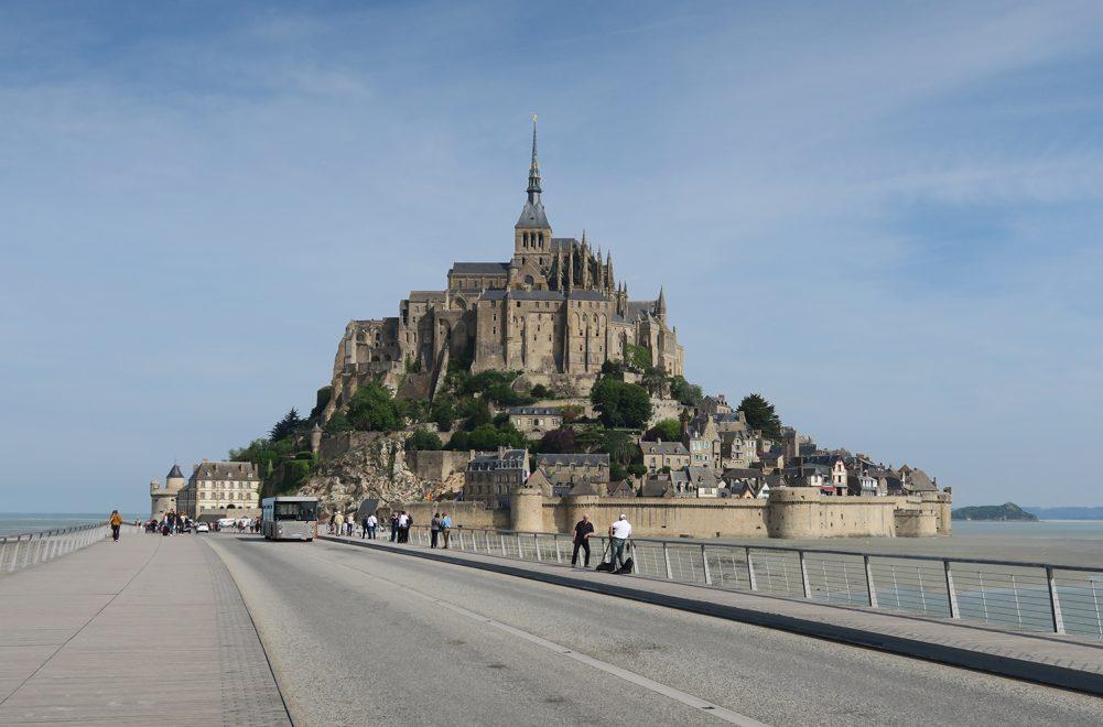 Viagem ao coração da Normandia IV: Monte Saint-Michel