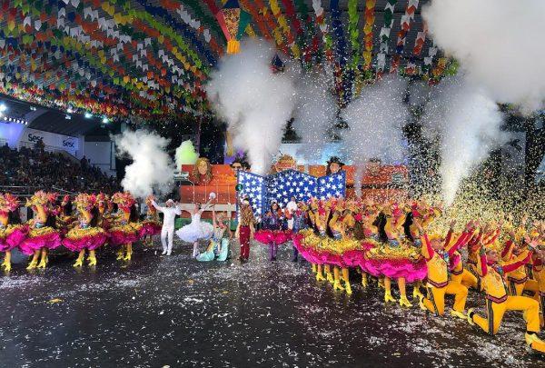 Com homenagem ao 'Grande Encontro', grupo junino Babaçu é destaque no festival de quadrilhas da Globo