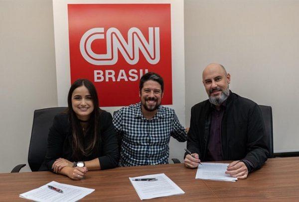 CNN Brasil anuncia contratação de Mari Palma e Phelipe Siani