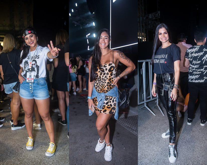 Fãs cearenses apostam em looks confortáveis e versáteis para show de Sandy & Júnior