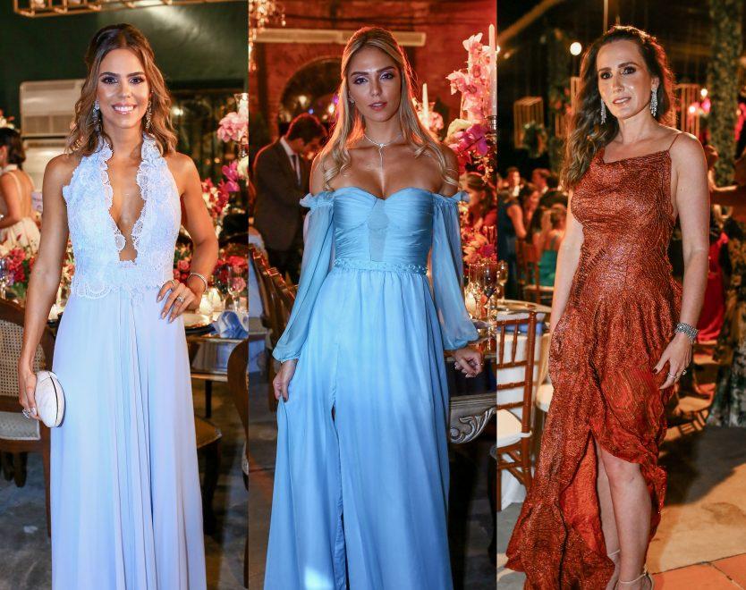 Se inspire: Nove looks marcantes do casamento de Fernanda Levy e Omar Macedo