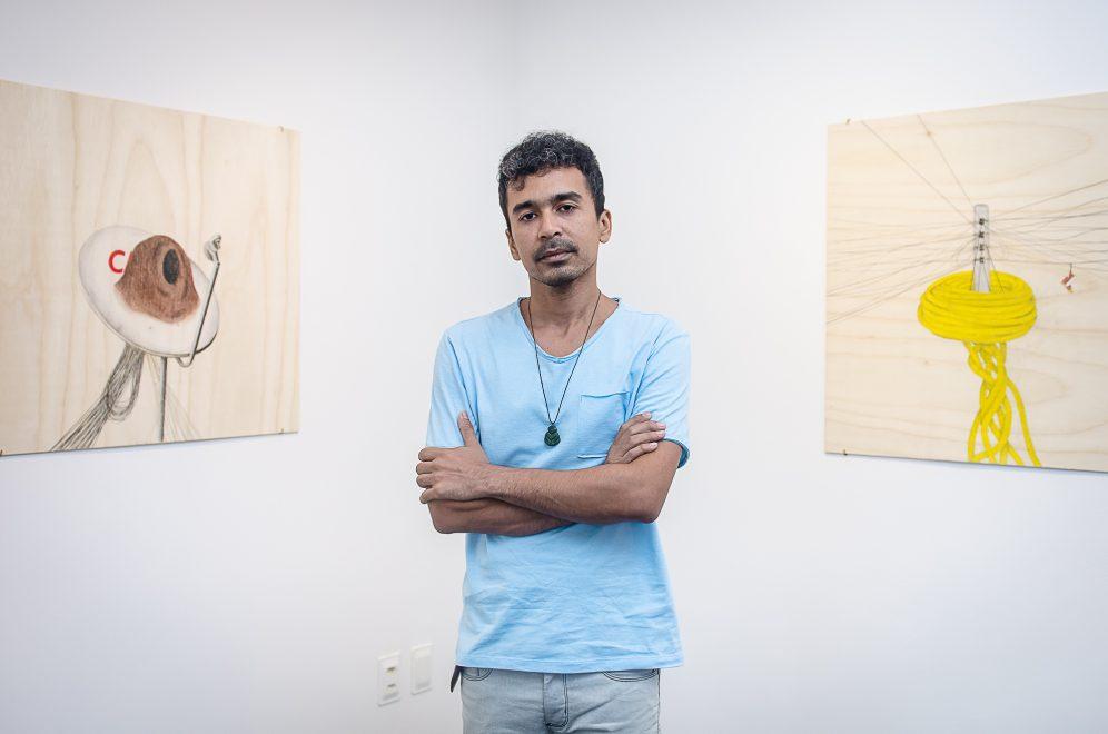 Diego de Santos abre exposição na Sem Título Arte com obras inéditas em Fortaleza