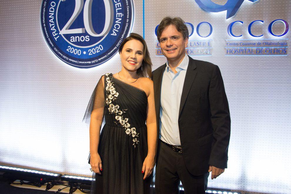 André Jucá e Gyna Machado comemoram 20 anos do grupo CLDO/CCO em noite sofisticada