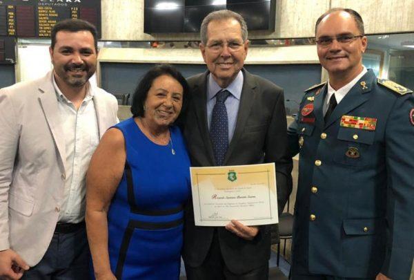 Ricardo Parente é homenageado na Assembleia Legislativa do Ceará