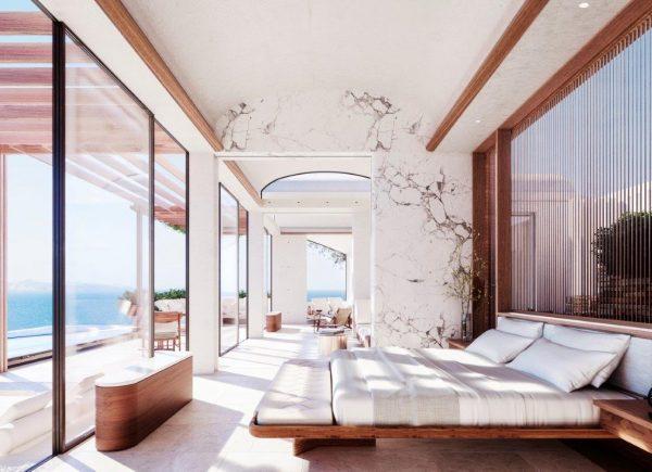 One&Only inicia construção de resort de ultra luxo em ilha grega