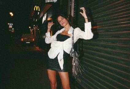 Estilosa, sexy e vibrante, modelo cearense Dani Pontes brilha em Paris