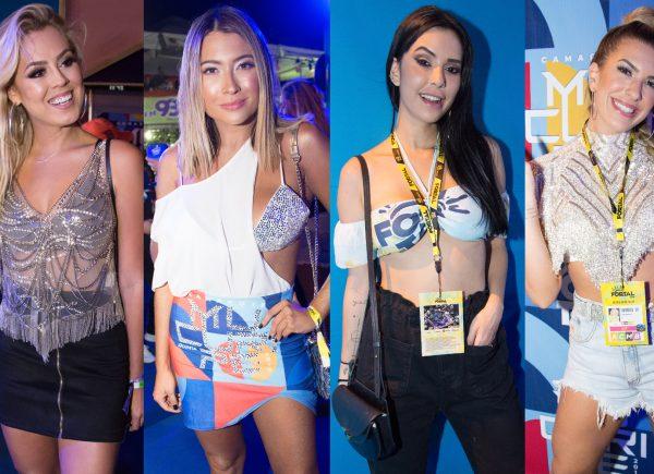 Gabriela Sales e Lore Improta entre os looks mais criativos do 1º dia do Fortal 2019