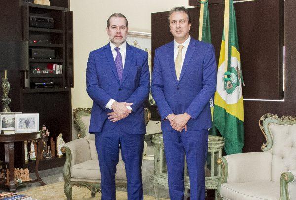 Dias Toffoli visita Ceará para conhecer particularidades do Poder Judiciário local