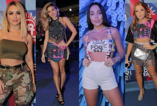 Cintura alta, lingerie à mostra… Veja o que é tendência em looks no Fortal 2019