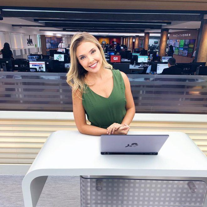 Taís Lopes representa o Ceará em edição do Jornal Nacional