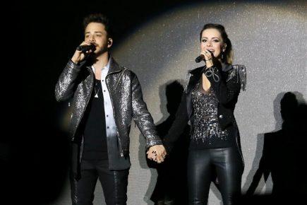 Integrante da dupla Sandy & Júnior já está em Fortaleza; confira detalhes
