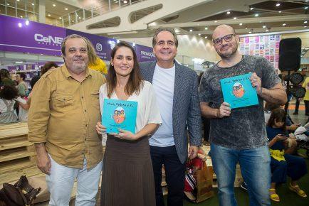 Manoela Queiroz Bacelar lança livro infantil na Bienal do Livro do Ceará
