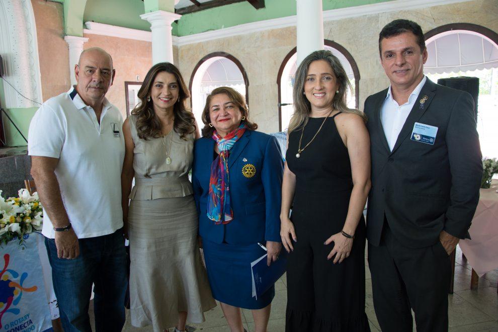 Maria Vital inicia visitas aos clubes do distrito regional do Rotary