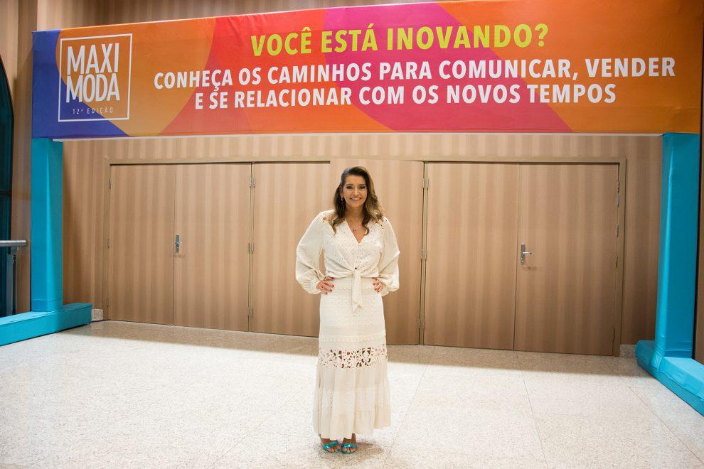 MaxiModa 2019: Márcia Travessoni usa look da marca Lenita