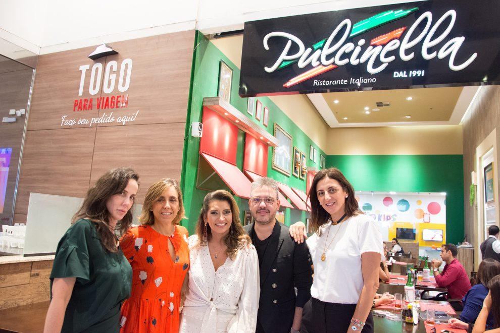 MaxiModa 2019: Márcia Travessoni e palestrantes almoçam no Pulcinella