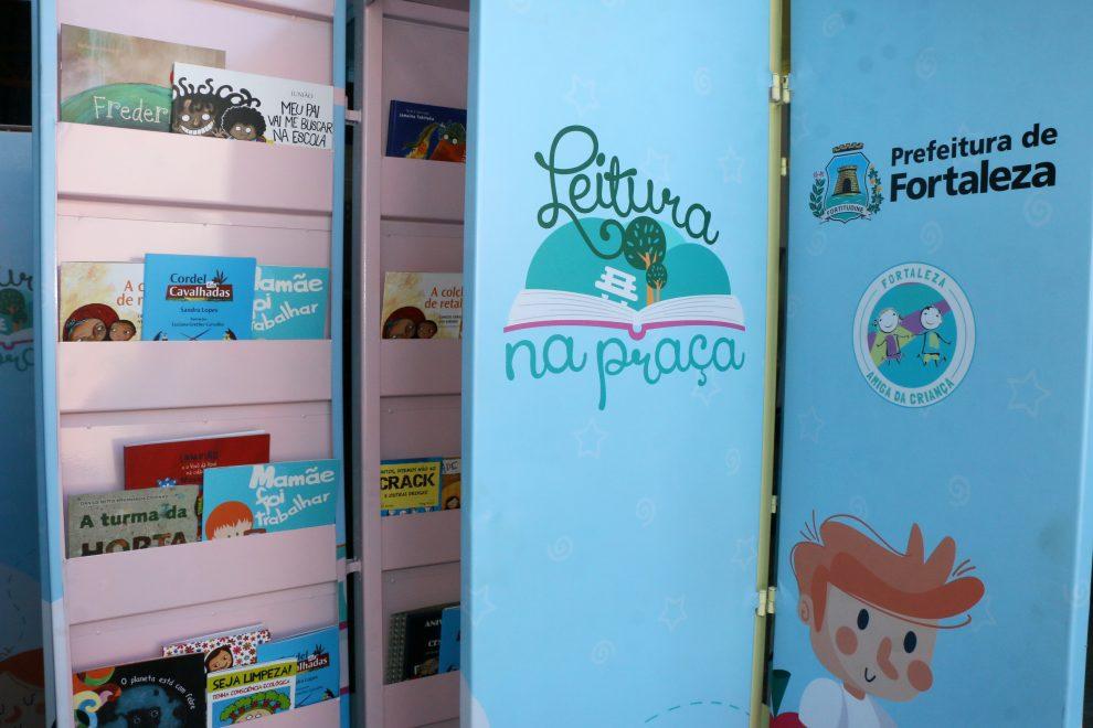Projeto Leitura na Praça é lançado pela Prefeitura de Fortaleza
