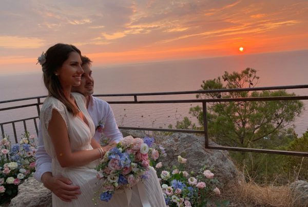Destination Wedding: Nicole Pinheiro e Netinho Bayde casam ao pôr do sol na Itália
