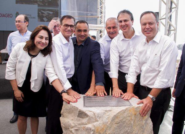 Diageo investe R$ 100 milhões na construção de complexo industrial em Itaitinga