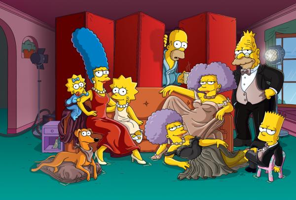 """'Os Simpsons' celebram 30 anos com """"ensaio"""" para a revista Vanity Fair"""