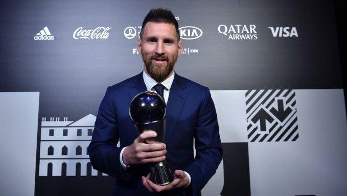 Lionel Messi é eleito melhor jogador do mundo