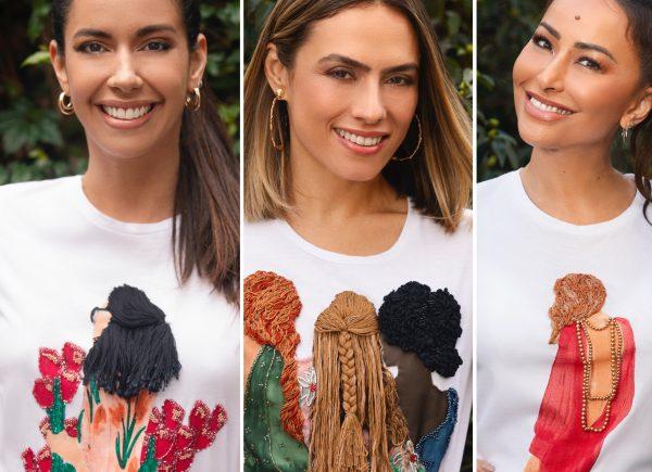 PatBo lança camisetas bordadas à mão para celebrar 7 anos da grife