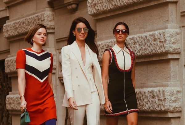 Semana de Moda de Milão: Paulinha Sampaio, Natasha e Nicole Pinheiro na Itália