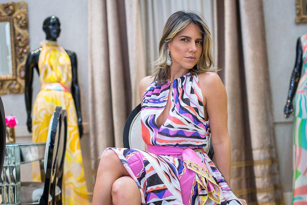 Diamond Design recebe trunk show da Emilio Pucci e René Caovila
