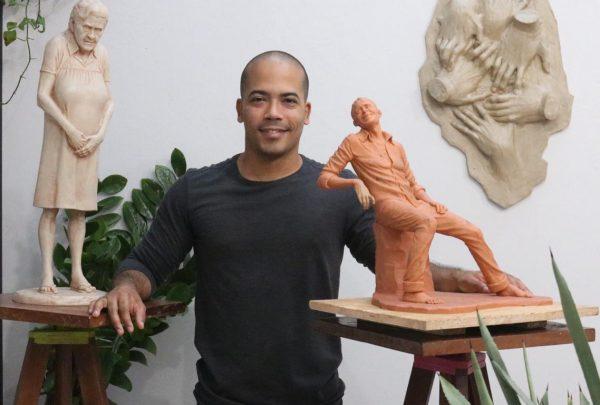 Esculturas realistas de Assis Filho estarão expostas na edição 2019 da CASACOR Ceará