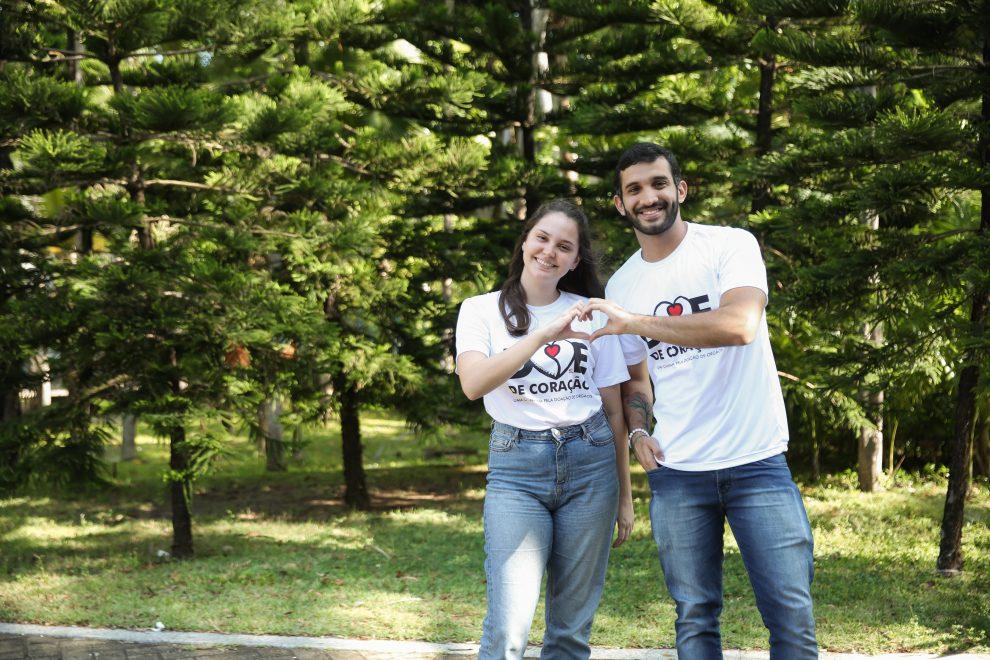 Campanha Doe de Coração promove ações informativas e de conscientização sobre doação de órgãos