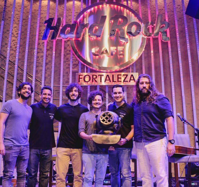 Selvagens à Procura da Lei é a primeira banda cearense a doar um item ao Hard Rock Cafe