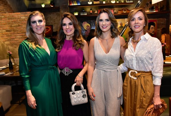 Carla Matos lança plataforma fashion Soul Glam com get together no Moleskine Gastrobar
